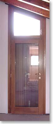 Falegnameria surian serramenti ed infissi in legno le - Sopraluce porta ...